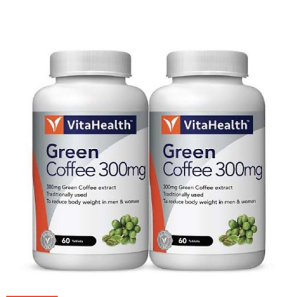 Buy Vitahealth Green Coffee Extract Suitable for Body Slimming  (60s x 2) Singapore