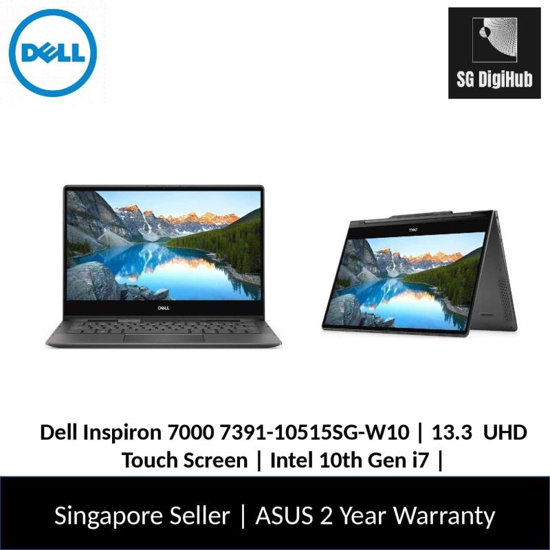 Dell Inspiron 7000 | 13.3  UHD Touch Screen | Intel 10th Gen i7 | 16GB RAM | 512 SSD | 7391-10515SG-W10