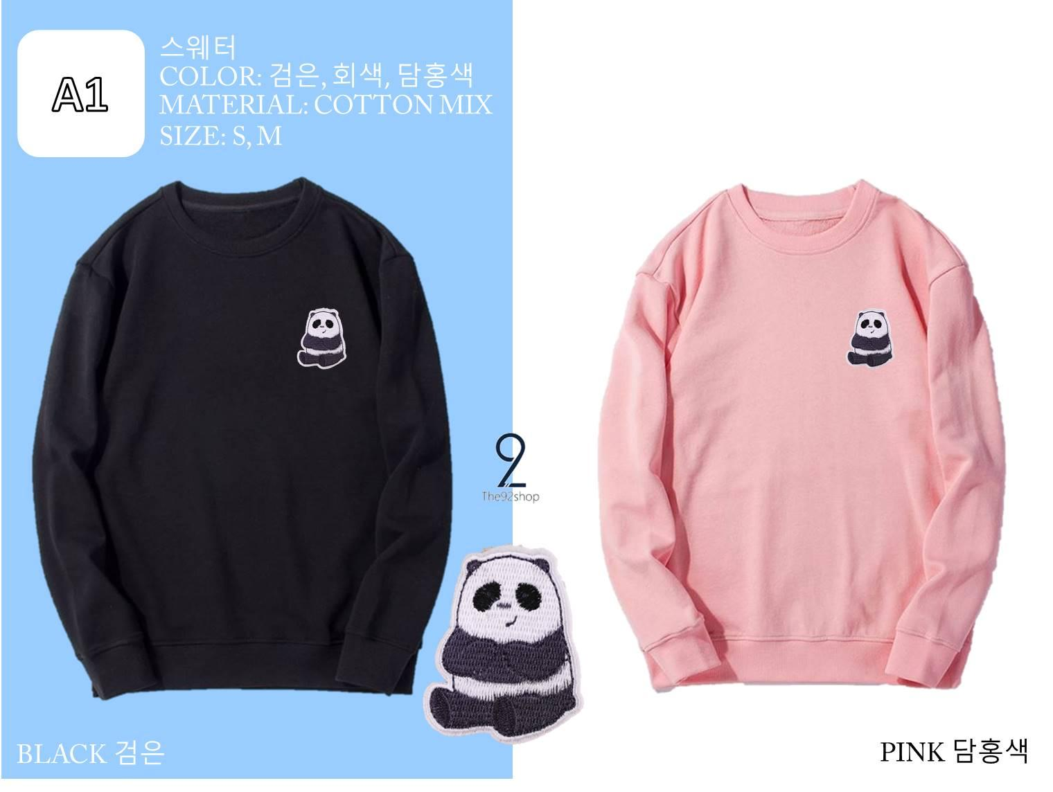 T92 Pan Pan We Bare Bears Sweater (unisex) By The92shop.