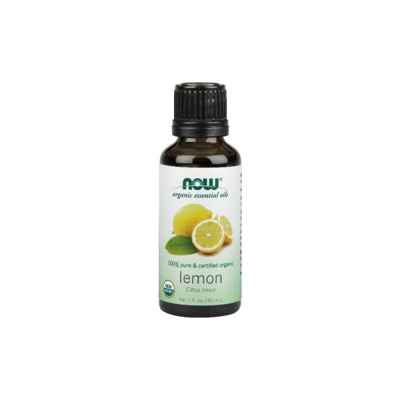 Buy NOW Organic Lemon Essential Oil (30ml) Singapore