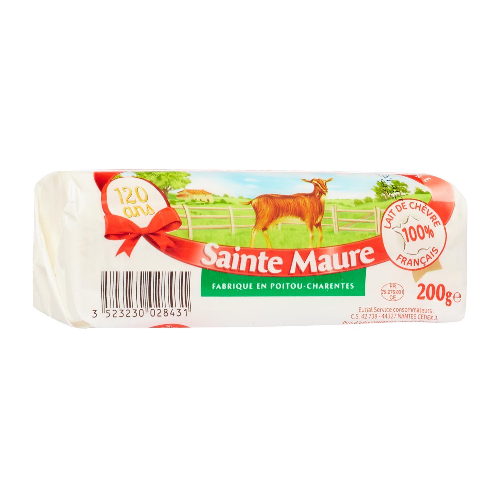 Soignon Sainte Maure Goat Cheese By Redmart.