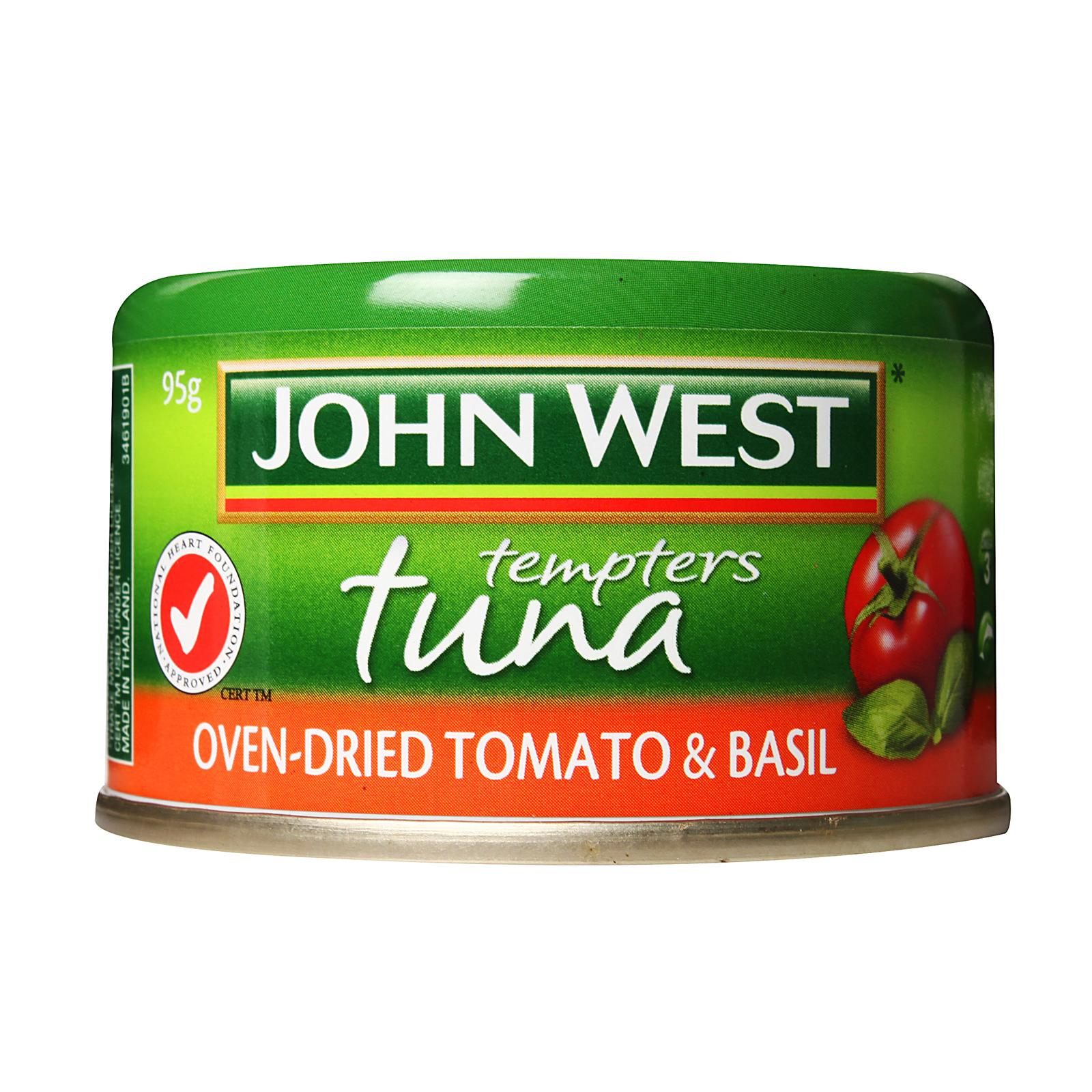 John West Oven-Dried Tomato and Basil Tuna Tempters