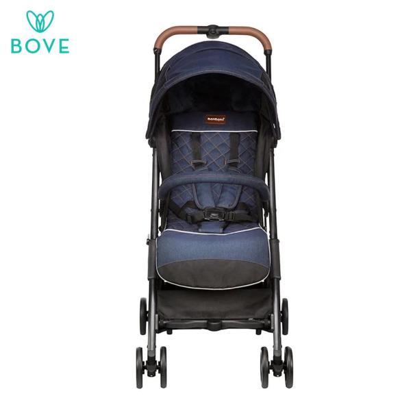 Bonbijou Luke Mini Stroller - Grey / Blue Singapore