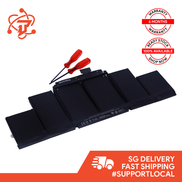 Original Battery for Macbook Pro Retina 15 inch A1398 Mid 2012 - Early 2013 (Battery Model: A1417)
