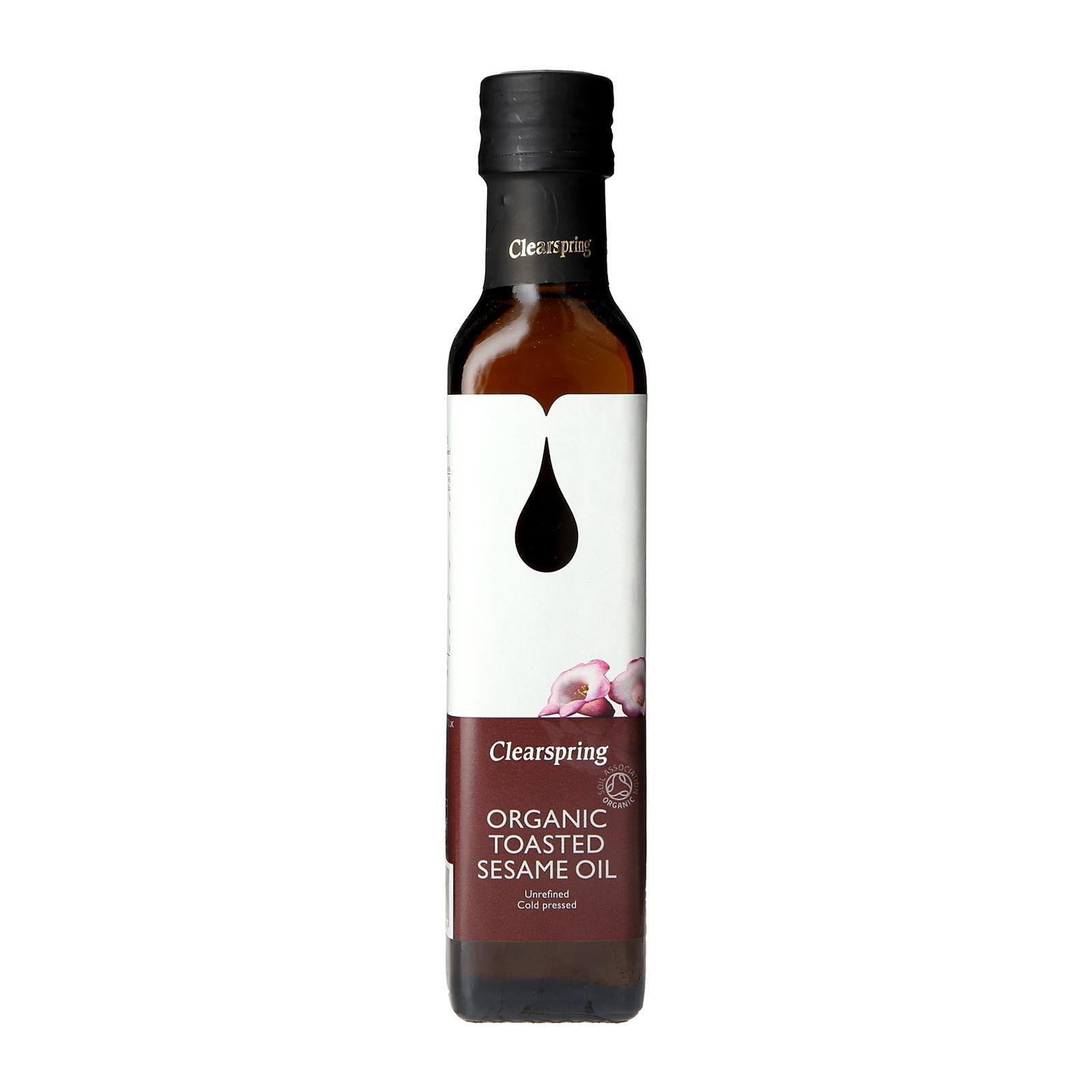 Clearspring Organic Toasted Sesame Oil - By Wholesome Harvest By Redmart.