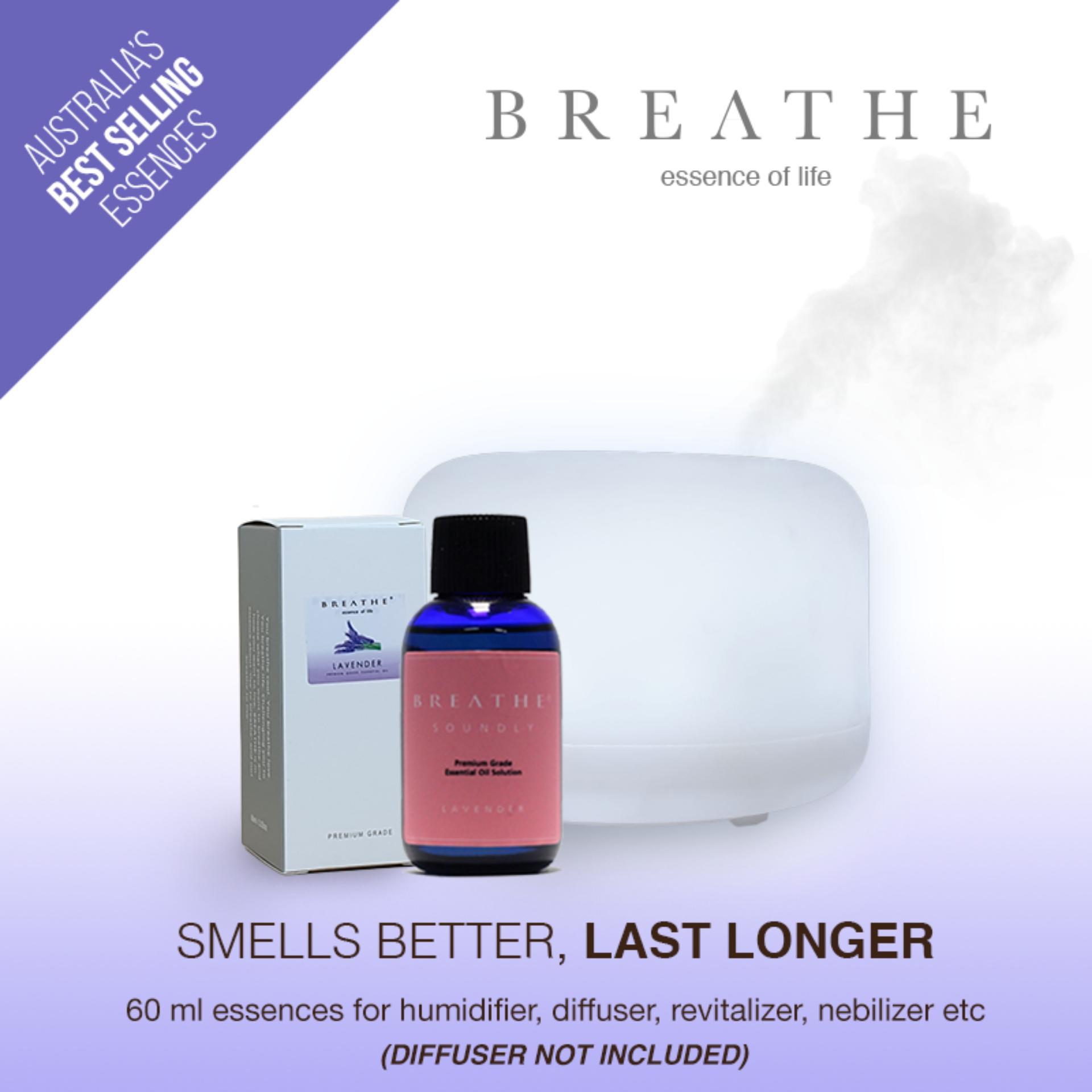 Breathe Soundly - Lavender Aromatherapy Water Base Essences By Breathe.