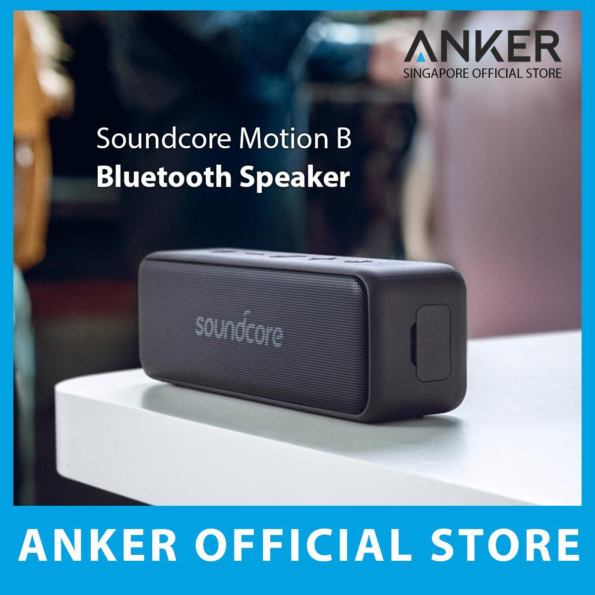 b6e32a7ddc294 Anker Soundcore Motion B 12W Portable Bluetooth Speaker with 12W Louder  Stereo Sound, IP67 Waterproof, and 12+ Hr Playtime, Soundcore Speaker  Upgraded ...
