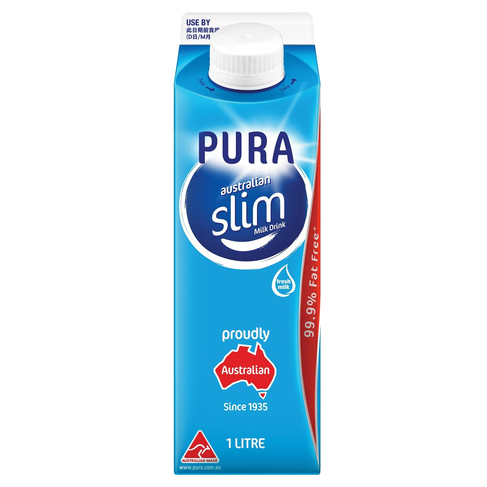 Pura Slim Milk By Redmart.
