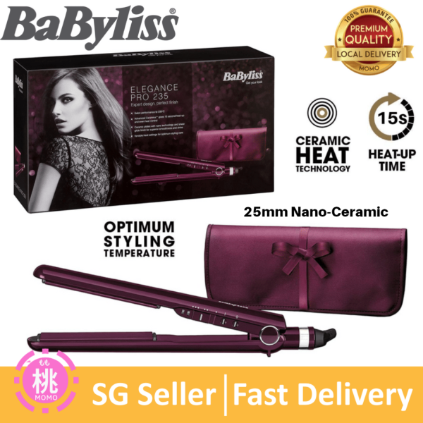 Buy BaByliss Pro 235 Elegance Straightener / Elegance 235  ( SG 3 pin plug ) Singapore