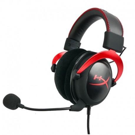 Kingston HyperX Cloud II Pro Gaming Headset  RED KHX-HSCP-RD (Better than Logitech Razer Gaming Headsets)
