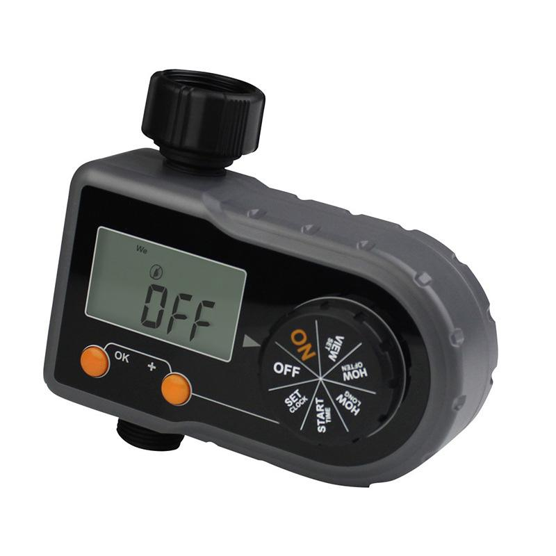 Digital Water Timer Solenoid Valve Home Garden Automatic Water Timer Garden Irrigation Controller System with LCD Display