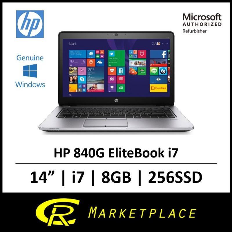 [Microsoft Authorized Refurbisher] HP 840G1 EliteBook i7 8GB RAM 256GB SSD