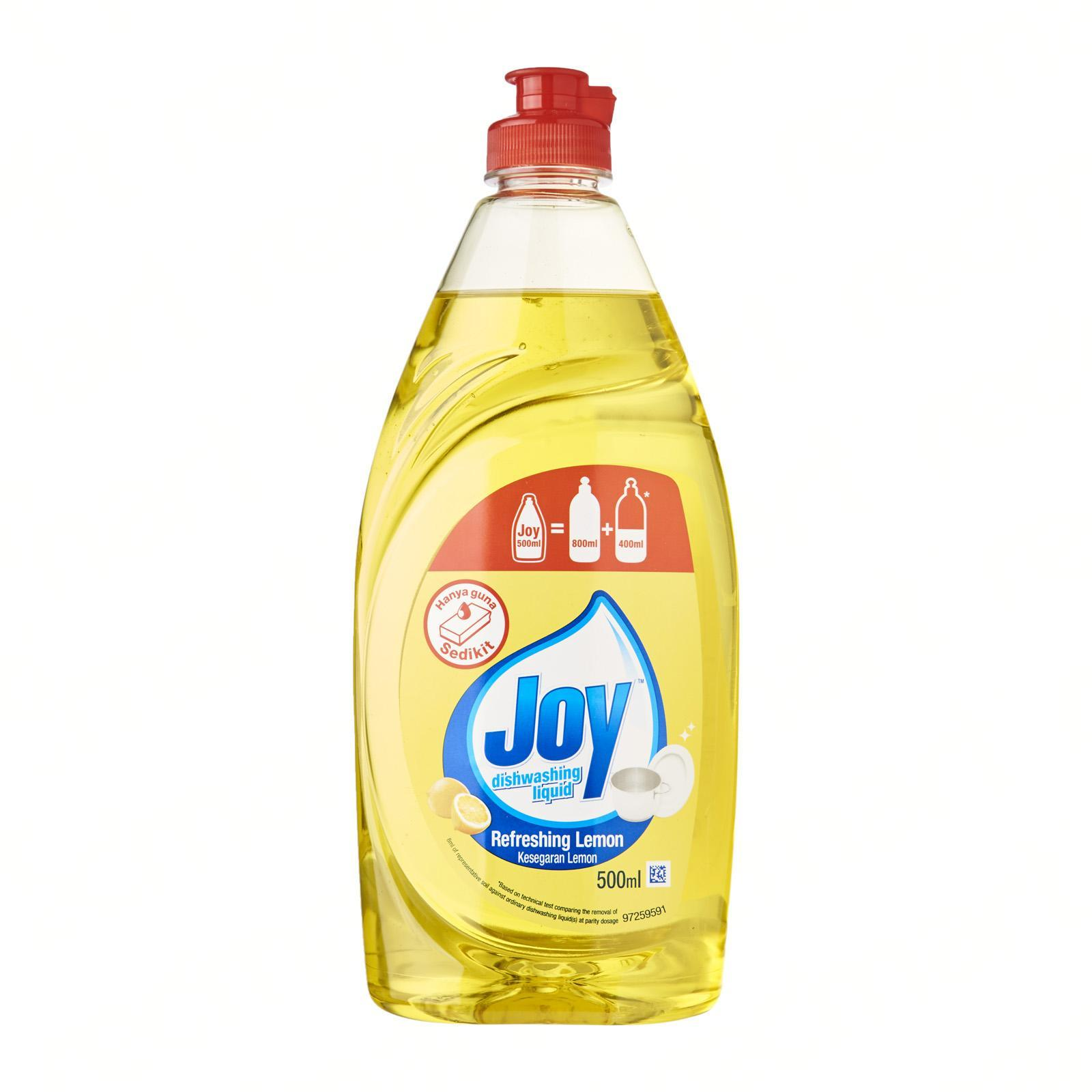 Joy Refreshing Lemon Concentrated Dishwashing Liquid 500ML