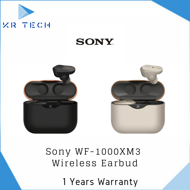 [FREE TOMTOC POACH] Sony WF-1000XM3 English Version w/ Google Assist (Stock in Singapore) with 1 Year Warranty Singapore