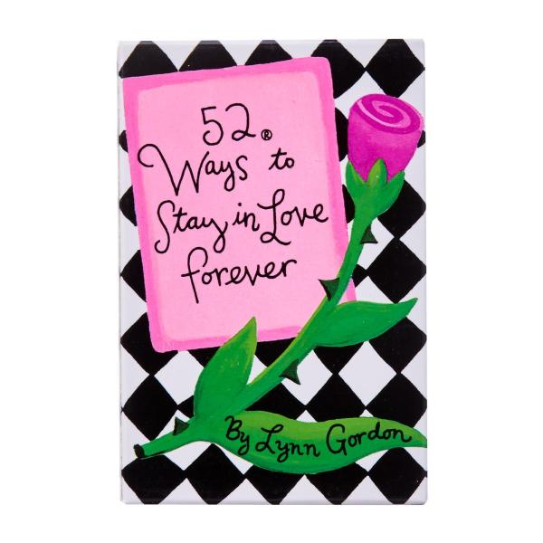 Chronicle Books 52 Ways To Stay In Love Forever