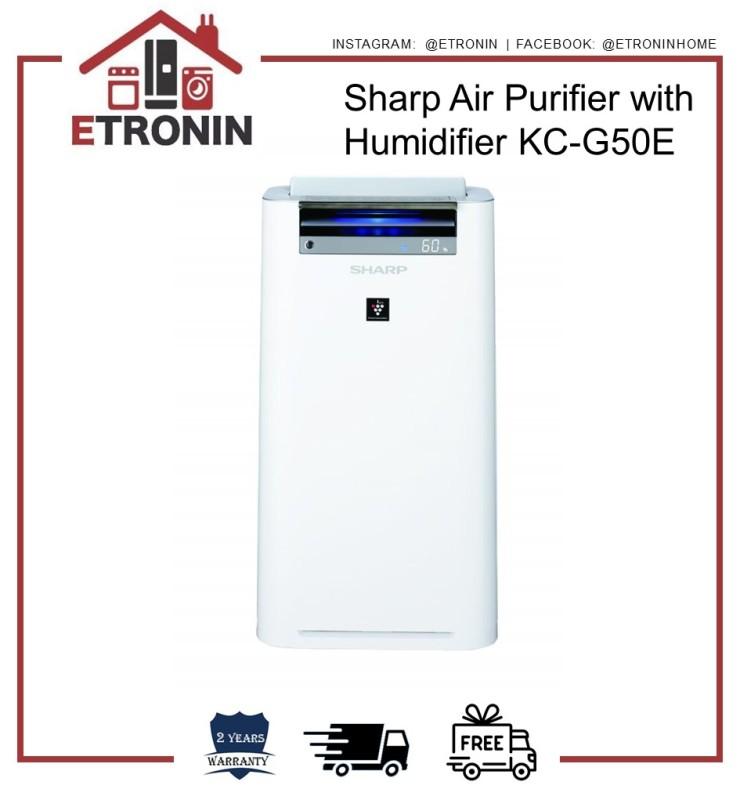Sharp Air Purifier with Humidifier KC-G50E Singapore