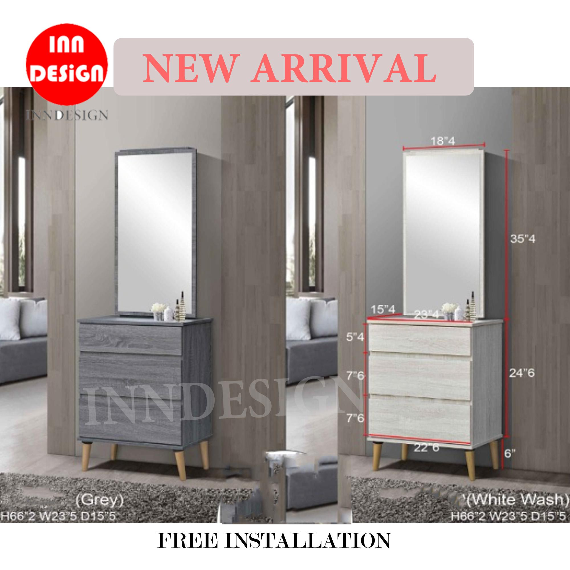 Dixon 2019 [New Arrival] Dressing Table [Free Installation] [Deliver Within 2 Working Days]