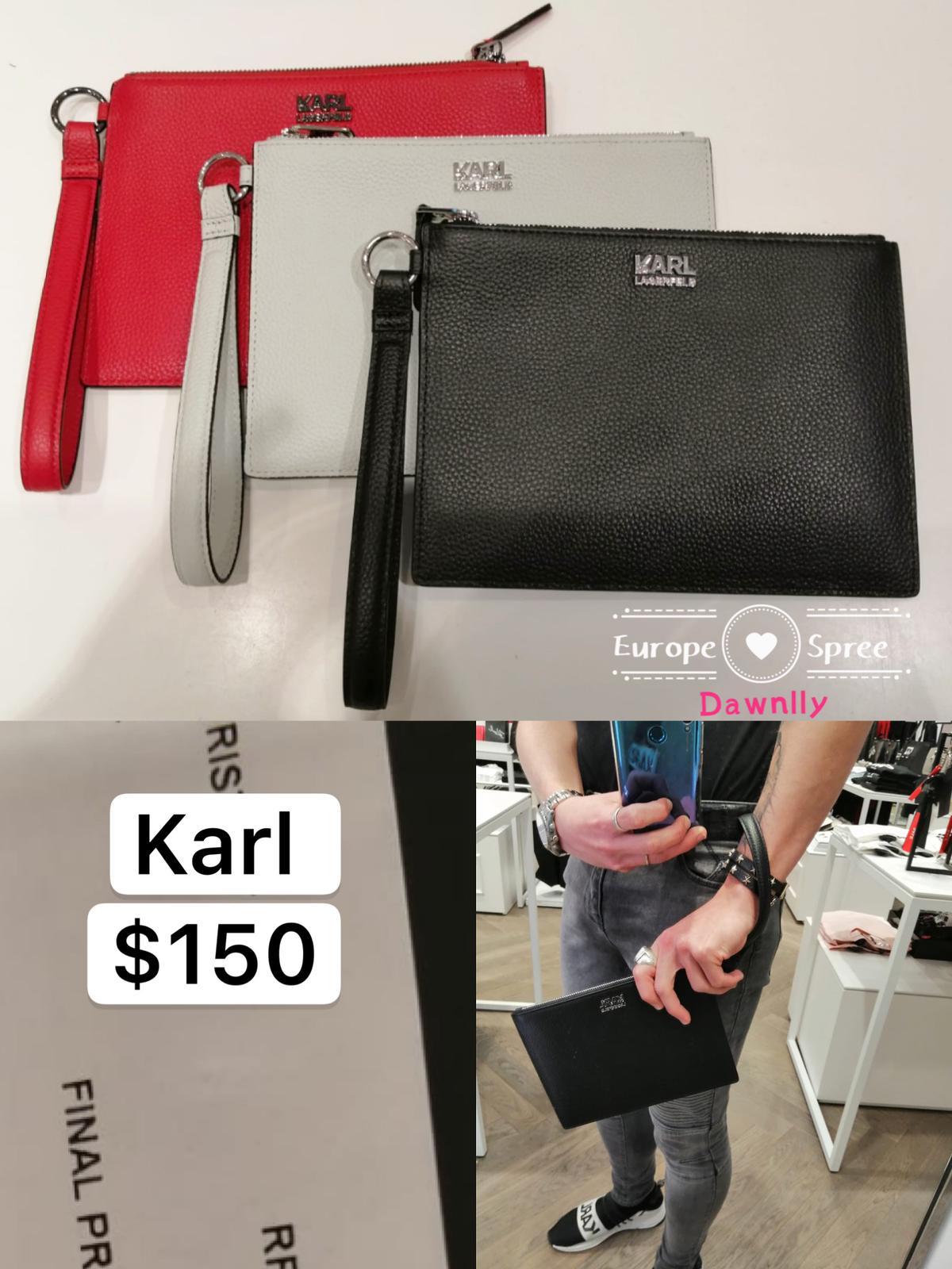 KARL LAGERFELD CLUTCH