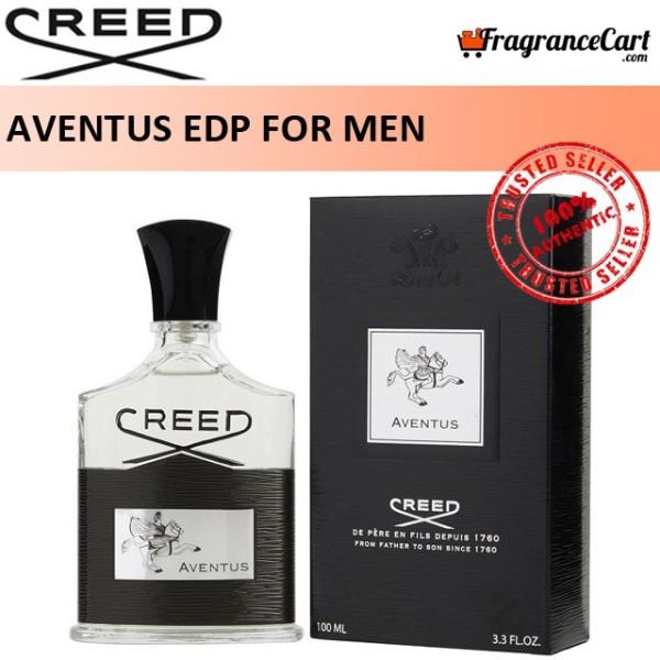 Buy Creed Aventus EDP for Men (100ml) Eau de Parfum Silver Black [Brand New 100% Authentic Perfume/Fragrance] Singapore