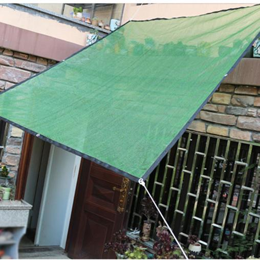 HDPE Sun Shade Plant Cover 50% Sun Blocking Hot Resistant Netting Mesh for Garden Greenhouse Flower Dark Green