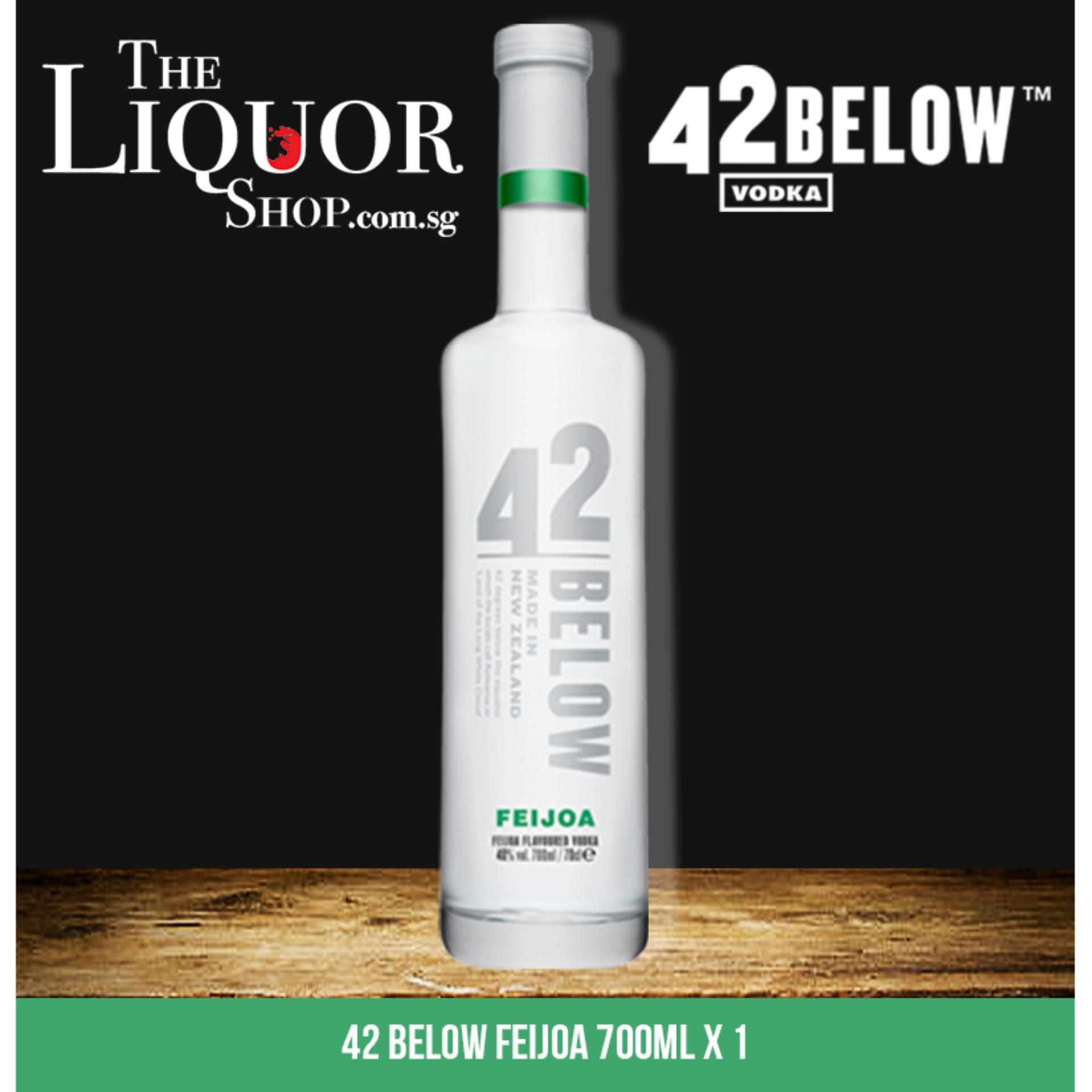 42 Below Feijoa 700ml X 1 By The Liquor Shop.