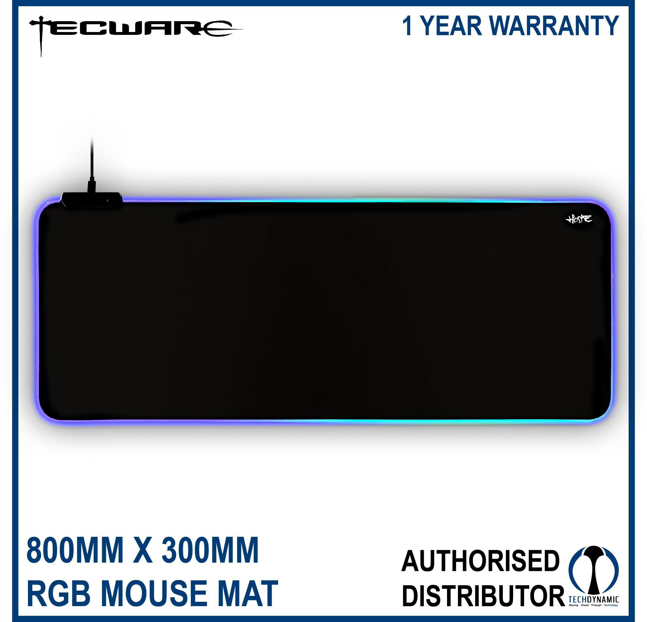 Tecware Haste XL RGB Mouse Mat