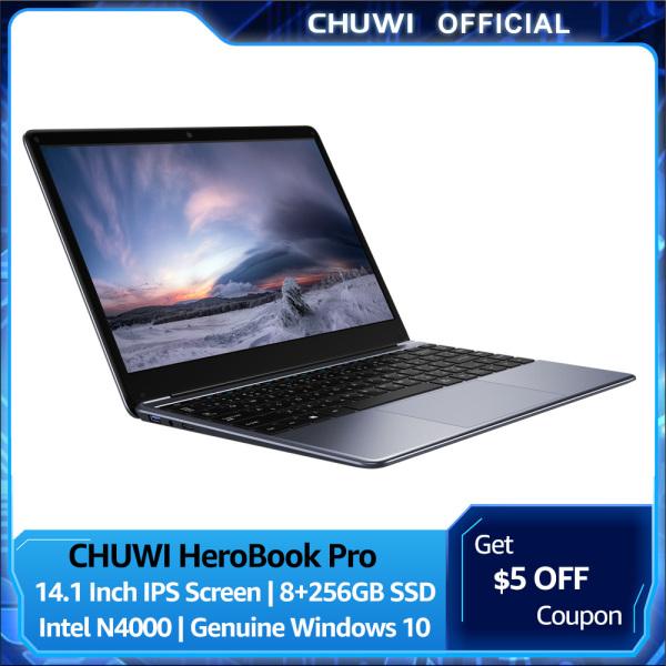 【CHUWI OFFICIAL】 HeroBook Pro Windows10 Laptop For Sale Brand New 13.3 Inch FHD 3200*1800 PC Laptop | Intel J3455 6GB/128GB Lightweight Office Laptop Win10 1 Year International Warranty