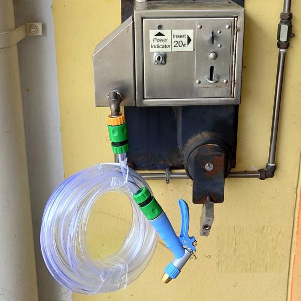HDB Carpark Car Wash/Bike Wash Hose + Spray Gun Set
