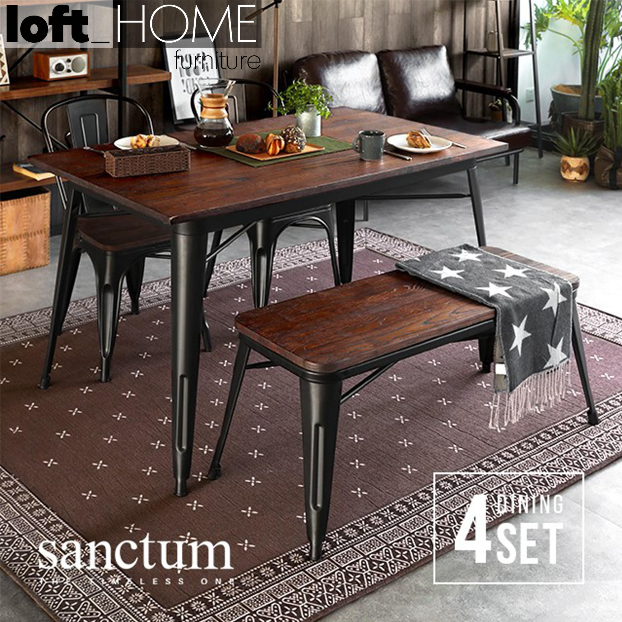 Dining Table – Sanctum 4pcs Set