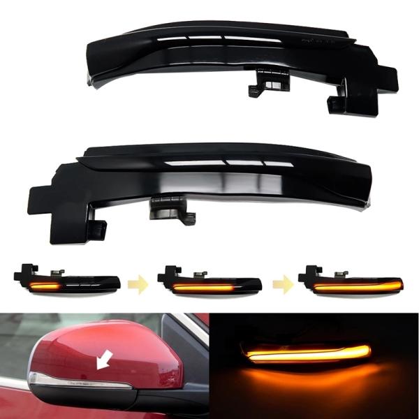 Car LED Dynamic Turn Signal Light Rearview Side Mirror Light for Volvo V40 CC II V60 S60 2011-2018 S80 V70 III