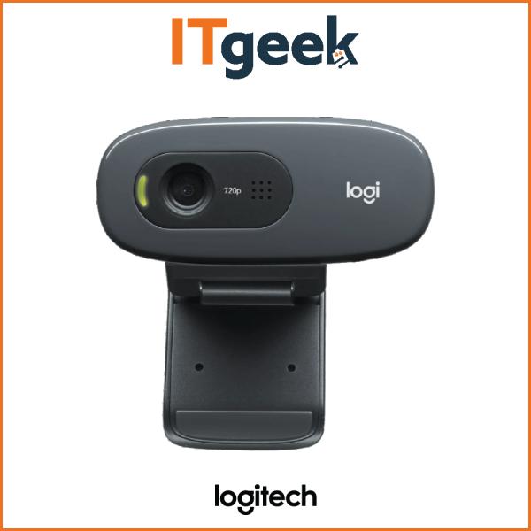 (4HRS DELIVERY) Logitech C270 HD Webcam