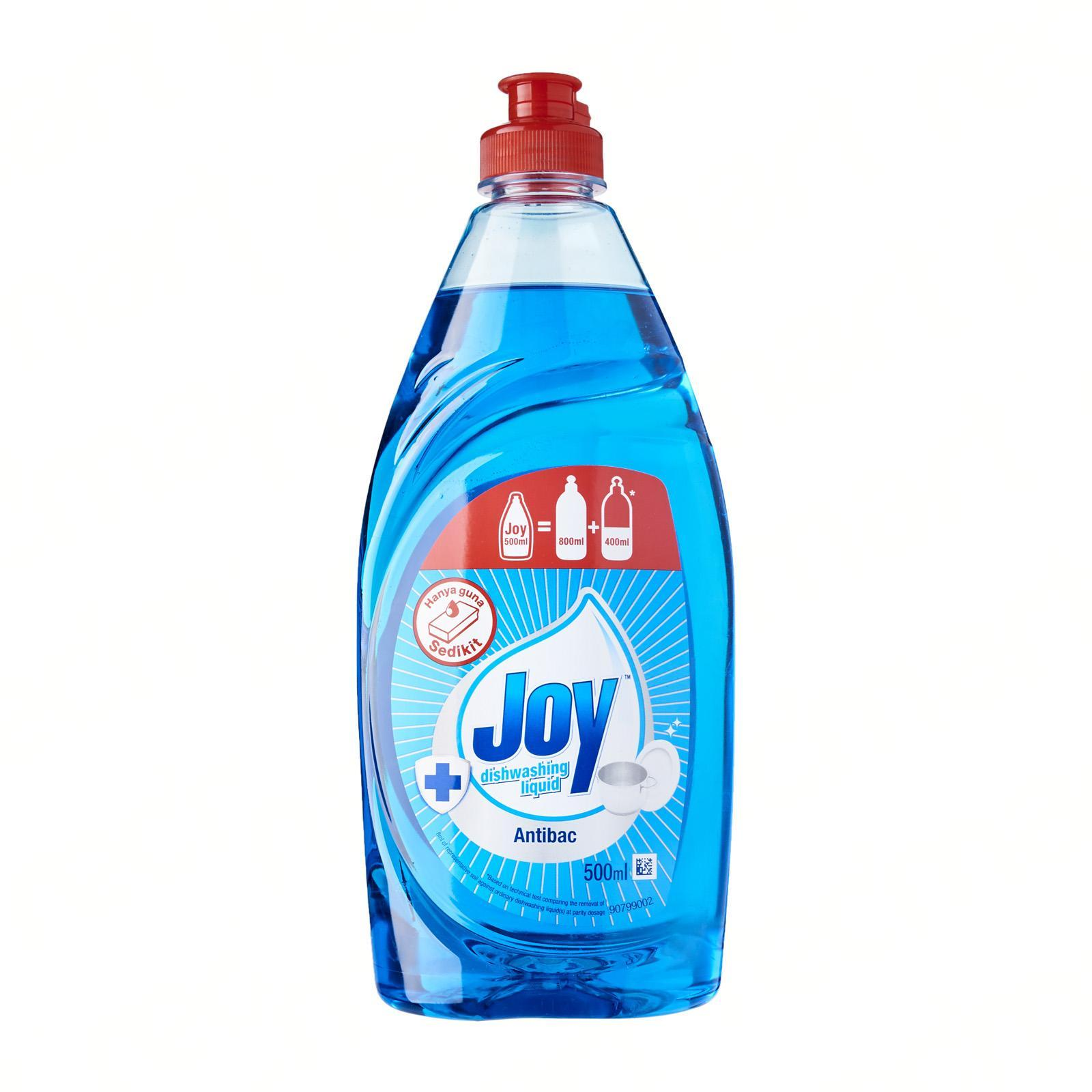 Joy Anti-Bacterial Concentrated Dishwashing Liquid 500ML