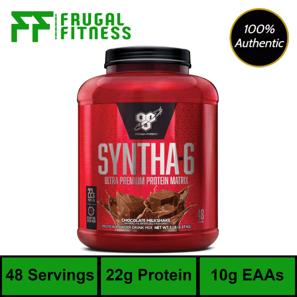 Buy BSN Syntha 6 Protein Powder 5lbs [Various Flavors] Singapore