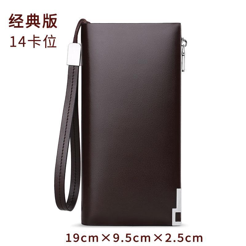 Kings Polo Wallet Male Long Leather Business Handbag Men 2019 New Style Clutch Wallet Fashion