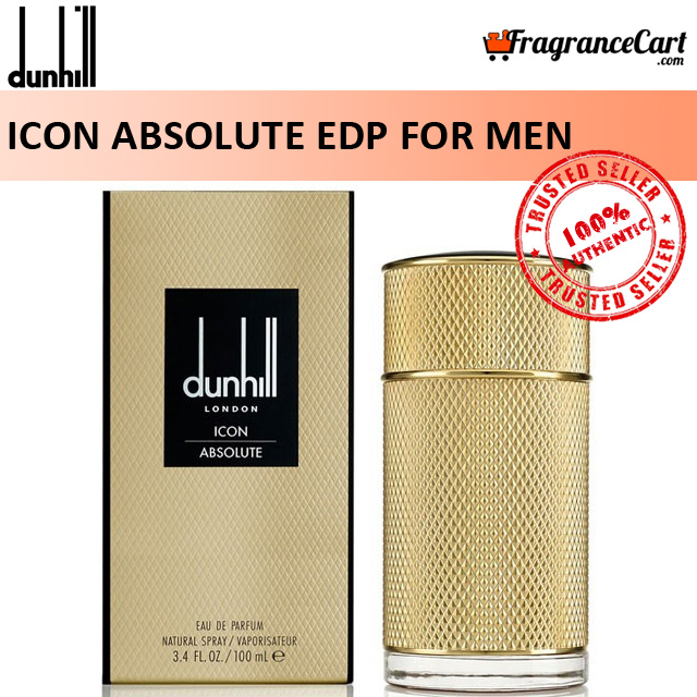 Dunhill Icon Absolute Edp For Men (100ml) Eau De Parfum Icon Absolu Gold Alfred Dunhill London Intense Extreme [brand New 100% Authentic Perfume/fragrance].