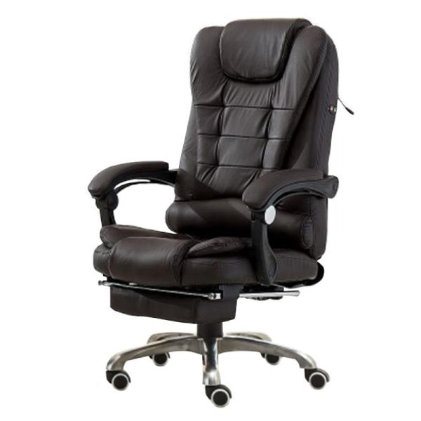 JIJI BOSS Office Chair With Legrest & Massage Functions (Free Installation) - Home Office Chairs / Supreme ★Leather ★Office Furniture ★Grand ★Ergonomic ★Quality / Free 6 Months Warranty (SG) Singapore