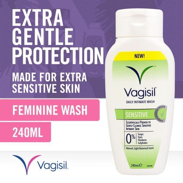 Buy Vagisil Sensitive Intimate Wash (New) 240ml Singapore