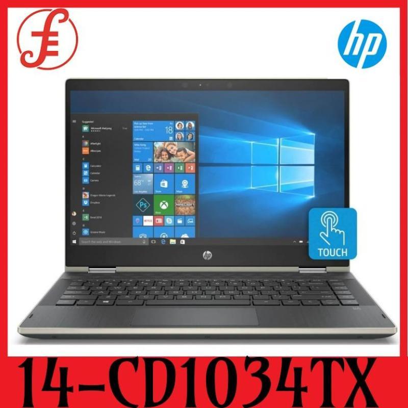 HP 14-CD1034TX PAV X360 CONVERTIBLE 14-CD1034TX (5HV95PA) 14IN INTEL CORE I5-8265U 8GB 1TB HDD+128GB SSD WIN 10 TOUCH (14-CD1034TX)