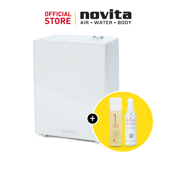 novita Humidifier NH890 Bundle with Air Purifying Solution Concentrate & Anti-Bac Spray Singapore