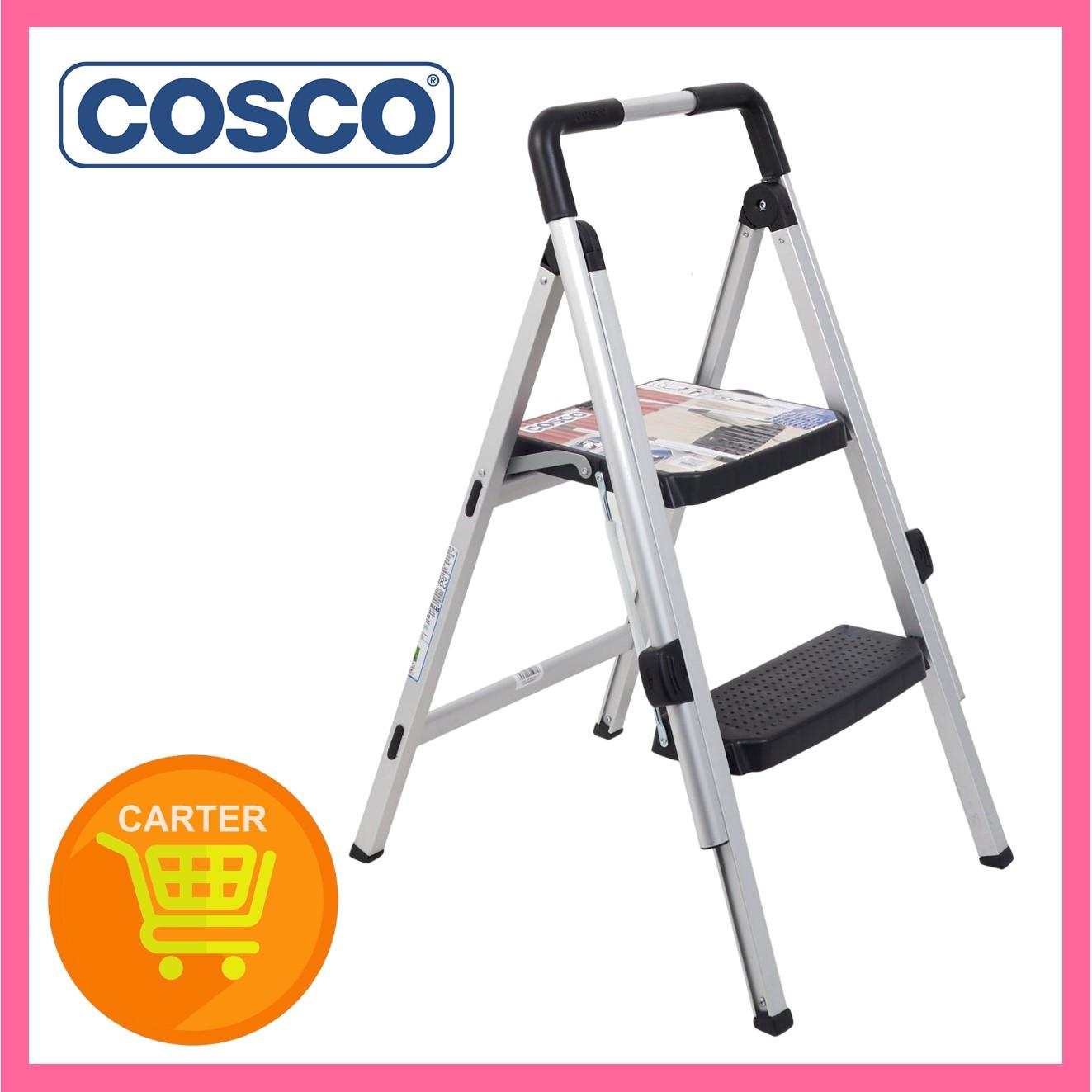 COSCO 2 STEP MAGIC FOLD ALUMINUM LADDER SL5073