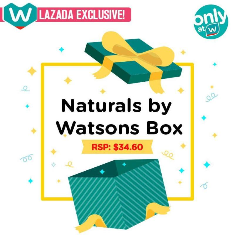 Buy NATURALS by WATSONS brand box [Brand of the Day] (LAZADA EXCLUSIVE!) Singapore