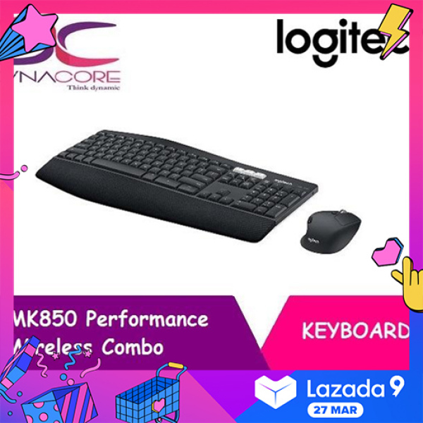 【FREE 32GB THUMBDRIVE】DYNACORE - Logitech MK850 Performance Wireless Keyboard and Mouse Combo Singapore
