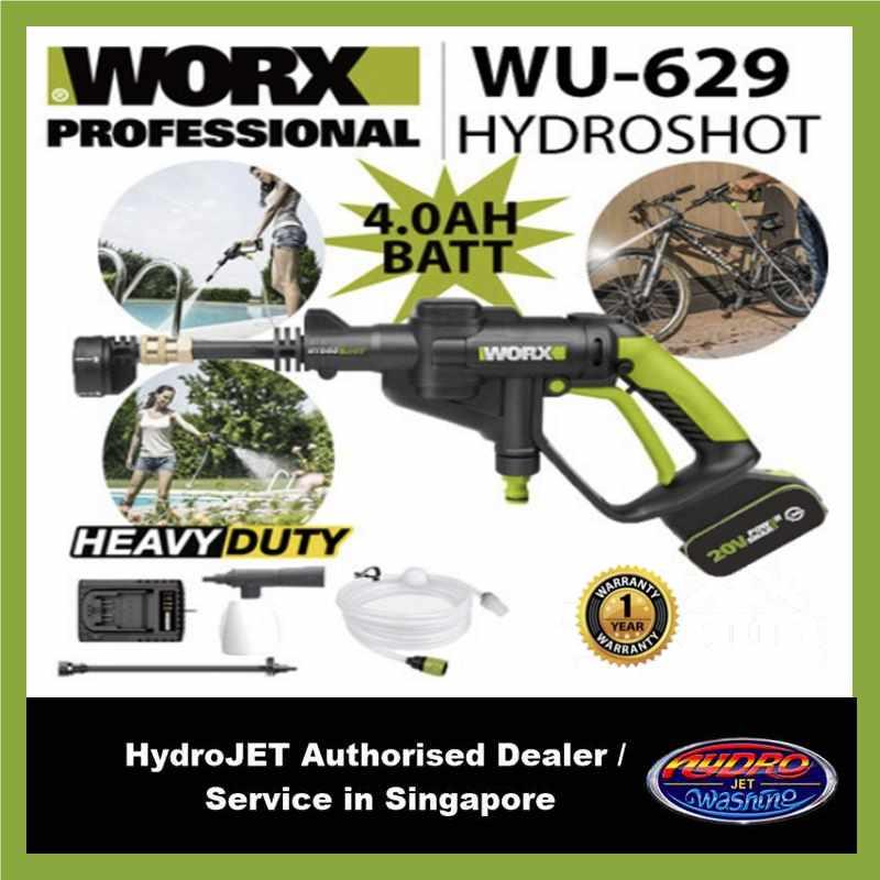 Worx Wu629 Hydroshot Professional - 4ah Battery.