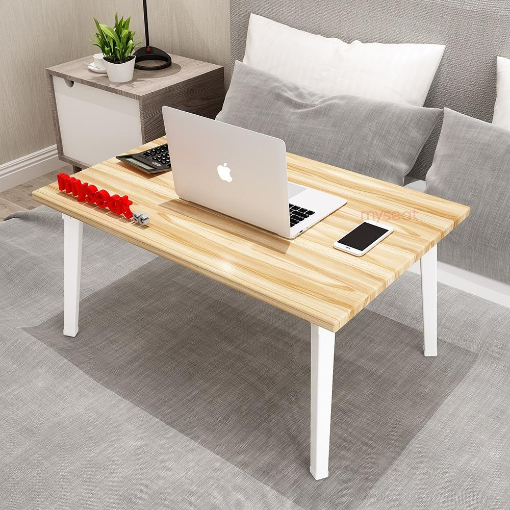 MYSEAT.sg PERSI Foldable Solid Wood Bed Table