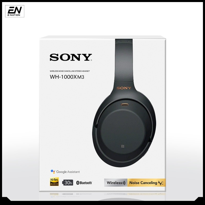 Sony WH-1000XM3 / WH1000xm3 Bluetooth Over-Ear Noise Cancelling Wireless Headphones / Earphone 12 month warranty Singapore