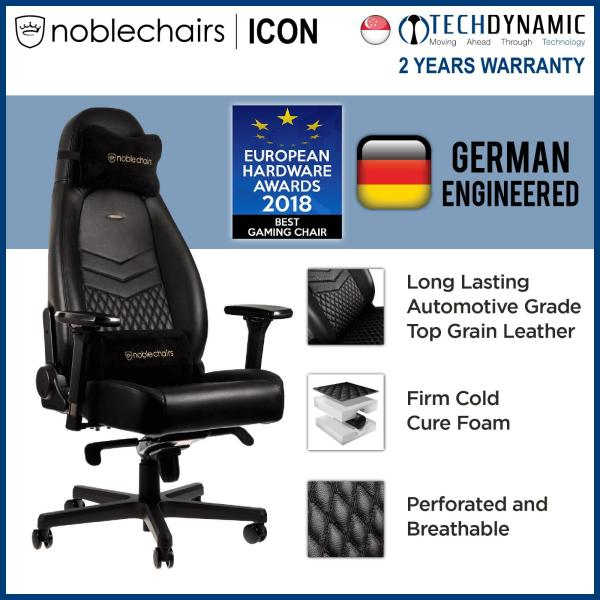 Noble Chairs Gaming Chair PU Faux Leather ICON Series [Available in 5 colors]