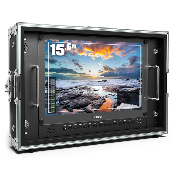 LILLIPUT New 15.6inch Carry-on Broadcast director monitor BM150-4K studio monitor with HDR 3D-LUT function