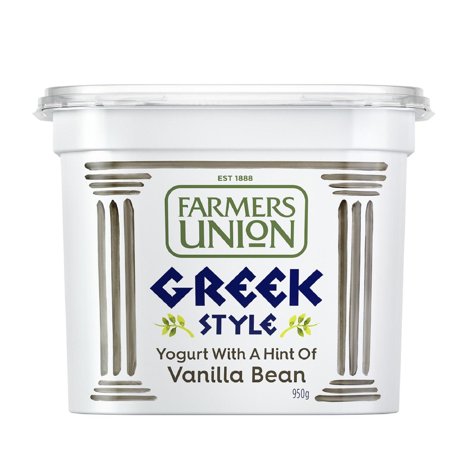 Farmers Union Greek Style With Vanilla Bean Yoghurt