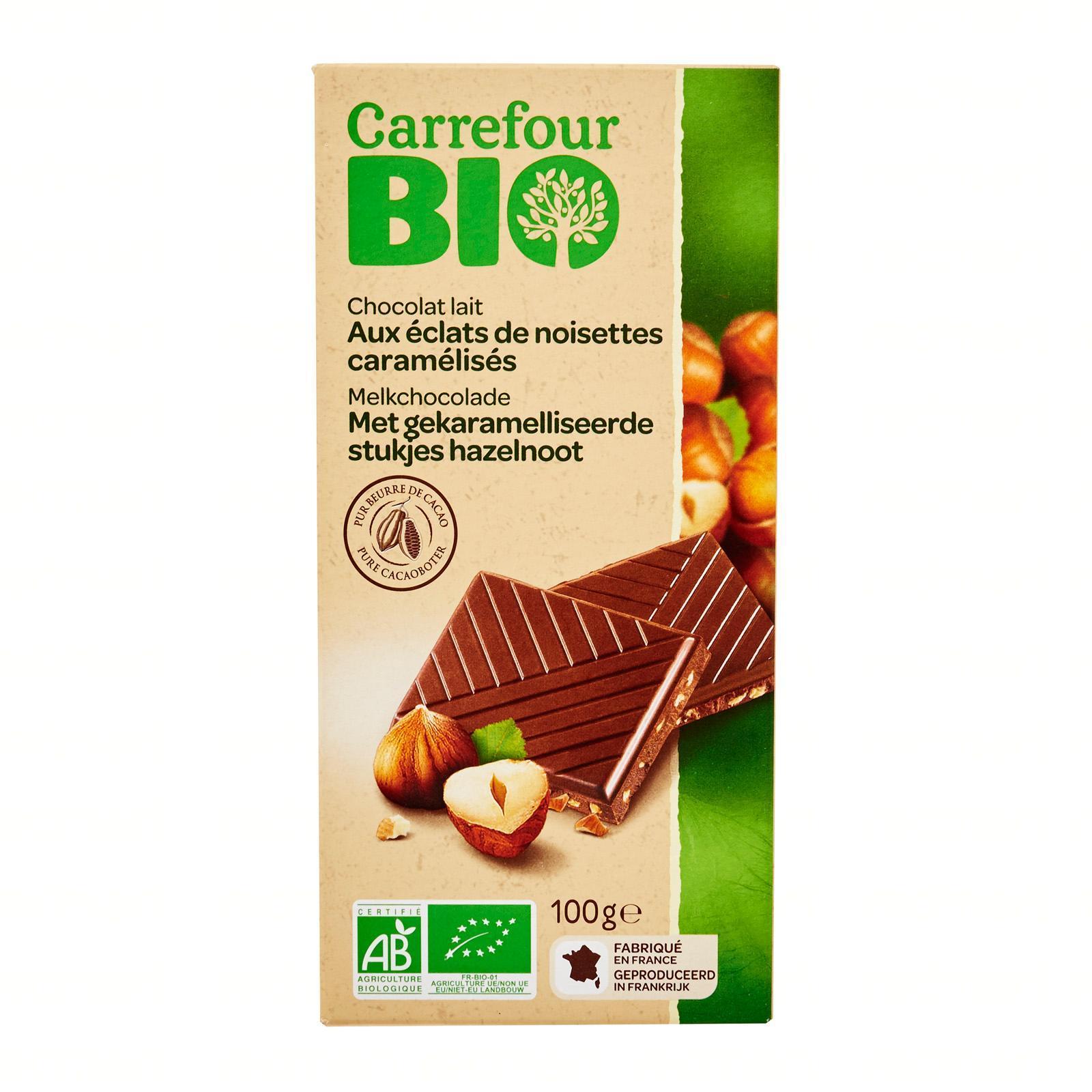 Latest Carrefour Large Block Chocolate Products Enjoy Huge