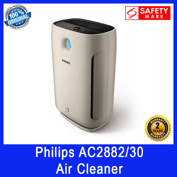 Philips AC2882/30 Air Cleaner. 3 Smart Presettings. Low Noise at Sleep Mode. Safety Mark Approved. 2 Year Warranty. Singapore
